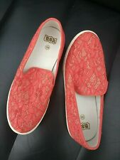 NWOB Ash Red Illusion Sneakers Size 5