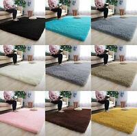 Fluffy Rug Shaggy Carpet Home Bathroom Living Room Floor Rugs Floor Mat Car Soft