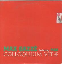 Max Gazzè Featuring Mao-Colloquium Vitæ Cd Single Promo Cardsleeve NM 1999