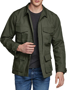 CQR Men's Casual Military Jacket, Water Repellent Field Army Jackets