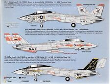 Zotz F-14A Tomcat Decals 1/32 079, Vf-41 Queen of Spades, Vf-1, Vf-33 Do