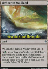 2x Verheertes Waldland (Blighted Woodland) Battle for Zendikar Magic