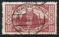 Germany (Weimar Rep.) Danzig 1923 Used - Poor Peoples Fund 100+30 Mi-132 SG-123d