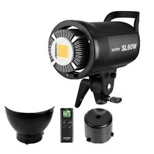 UK Godox SL 60W 5600K Studio LED Video Light Continuous Light + Remote Control