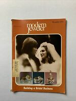 Vintage Modern Jeweler Magazine December 1975 - Jewelry, Watches Gems Diamonds