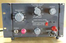 General Radio GR 1311-A Audio Oscillator