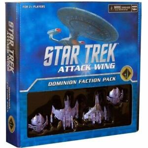 THE CARDASSIAN UNION DOMINION FACTION PACK STAW