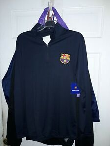 FC Barcelona soccer jersey Long sleeve shirt Barça fútbol camiseta camisa NEW M