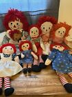 vintage raggedy ann And Andy Doll Lot