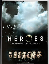 Heroes The Official Magazine #1 Dec 2007/Jan 2008 First Issue Cover A