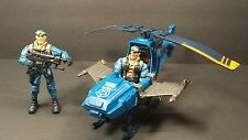 "2001 The Corps Lanard A3 Helicopter with two soldiers 3.75"" 2003"
