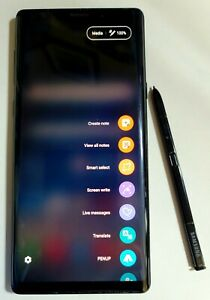 Samsung Galaxy Note9 SM-N960 - 512GB - Midnight Black (Verizon) (Dual SIM)