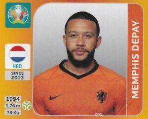 Panini Euro Em 2020 - 2021 Tournament Edition Sticker No. 288 Memphis Depay