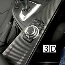 200x20cm 3D Carbon Fiber Sticker DIY Car Body Door Cover Anti Scratch Sticker nw