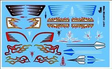 Gofer 11017 1950's and 60's Custom Trim Decal Sheet 1/24 and 1/25