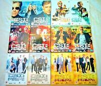 CSI MIAMI - SEASON 1-6 - DVD BOXSETS - ( 36 DISC ) - VGC - REGION 2