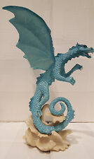 "11"" Summer Dragon Figurine, Mythical Fantasy Creature"