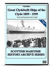 DVD Great Clydebuilt Ships of the Clyde 1859-1959 Transport Ships Liners Naval