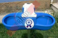 Double Automatic Drinker water bowl and feeder for cat dog cattle horse sheep