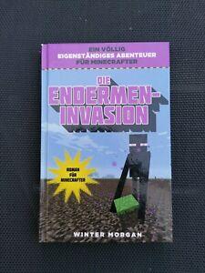 MINECRAFT * Die Endermen-Invasion, tolles Buch, 🔑 kaum gelesen, cool 😀,