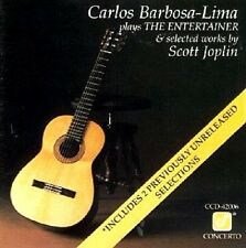 Sealed CARLOS BARBOSA-LIMA CD - PLAYS THE ENTERTAINER - (SCOTT JOPLIN) 1990 OOP