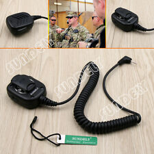 Hand Handheld Shoulder Mic Speaker Motorola Talkabout Walkie Talkie  1 Pin Jack