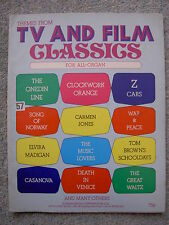 Themes from TV and Film Classics - for all organ, 1970s, Onedin Line, Z Cars