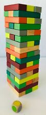 Janod Equilibloc Color Wood Balancing Game for 2 or more Players Age 3-10