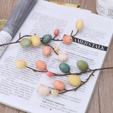 Easter Egg Tree Branches Home Decoration Painting Field Eggs Spring Party Decors