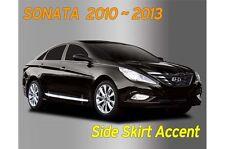 Chrome Side Skirt Accent Door Garnish Silver 4P B669 for Hyundai Sonata 2010~13