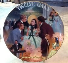 Gone With the Wind Musical Collectors Plate - belle of the Twelve Oaks Barbecue