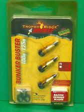 Trophy Ridge Rocket Aeroheads Bunker Buster Broadheads 100 or 125 gr - New Pack