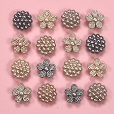 DRESS IT UP boutons vintage perles 8994-Ornements