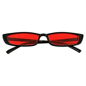 Rectangle Small Sunglasses Womens Mens Vintage Retro Rectangle Fashion Shades UV