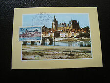 FRANCE - carte 1er jour 18/8/1973 (chateau de gien) (cy38) french