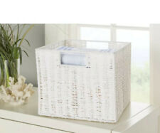 New ListingWicker Basket Keep your space organized