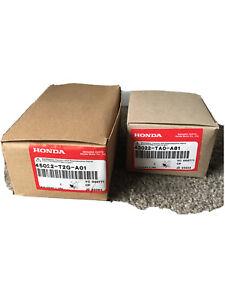 2013-2017 Genuine Honda Accord Brake Pad Set 45022-T2G-A01 43022-TA0-A81 New F&F