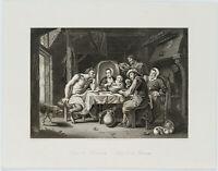 """A. CARSE(19.Jh), n.HERP, """"Satyr&Peasants. Satyr & die Bauern"""", um 1845, Stahlst."""
