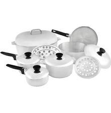 New listing Imusa Usa Heavy Duty 13-Piece Cast Aluminum Cajun Cookware Set, Silver