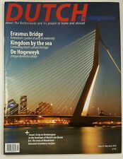 Dutch Magazine Erasmus Bridge Hindeloopen Travel May June 2016 FREE SHIPPING JB