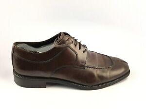 Cole Haan Eaton Split Toe C04717 Brown Lace Up Dress Oxfords Men's US 11.5 m