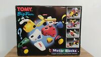 TOMY Big Fun - Motor Blocks - Vintage Science/Engineering Toy - Complete & VGC