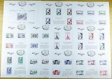 Frankreich France 2016 Tresors de la Philatelie Schätze Block 335-345 Postfrisch