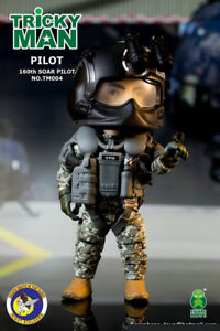 FigureBase Trickyman Seal Team 6 Night Stalkers Pilot Soldier TM004 Figure Model