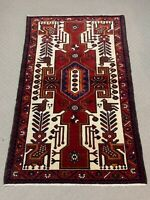 Oriental Afghan Persian Hand Knotted Wool Rug Carpet,Floor Room Decor 153x100