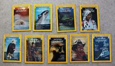 National Geographic 1976; Jan; March; May; June; July; September; November; Dec