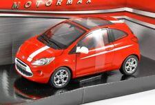 1:24  Motormax 2008 Ford KA red .