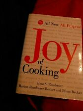 The Joy of Cooking by Marion R Becker, Irma Rombauer & Ethan Becker HC delicious