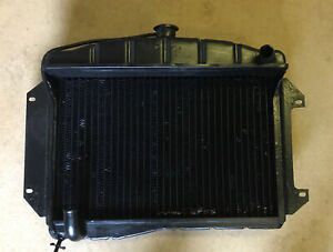 Riley 1.5 Wolseley Radiator Out Right Sale Pressure Tested