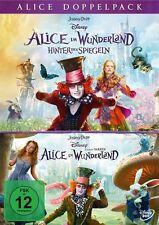 Disney's - Alice im Wunderland 1 + 2 Hinter den Spiegeln - DVD / Blu-ray - *NEU*